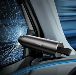Búa phá kính và dao cắt thoát hiểm cho ô tô chính hãng Baseus