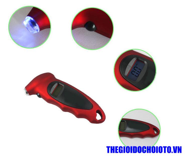 Đồng hồ đo áp suất lốp điện tử