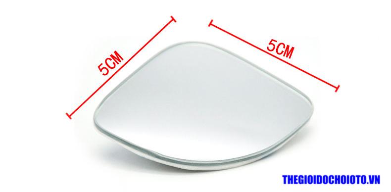 Gương cầu lồi dạng góc xoay 360 độ gắn gương ô tô (mẫu 5)