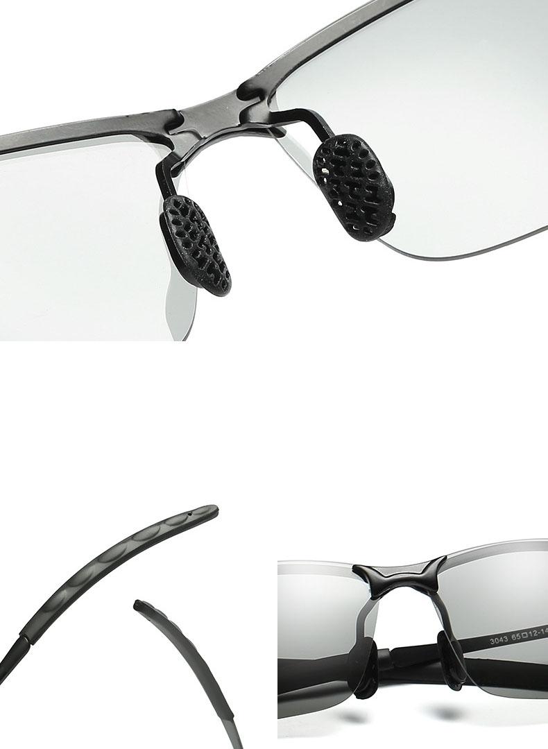 Kính chống lóa ô tô ống kính màu xám phân cực polarized mắt kính đổi màu phân cực HD