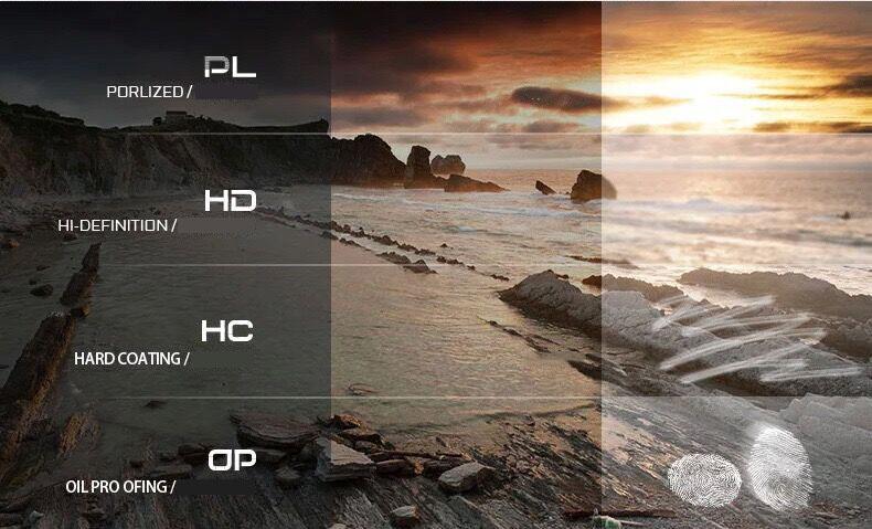 Kính râm phân cực HD sử dụng ban ngày kiểu dáng cổ điển sang trọng