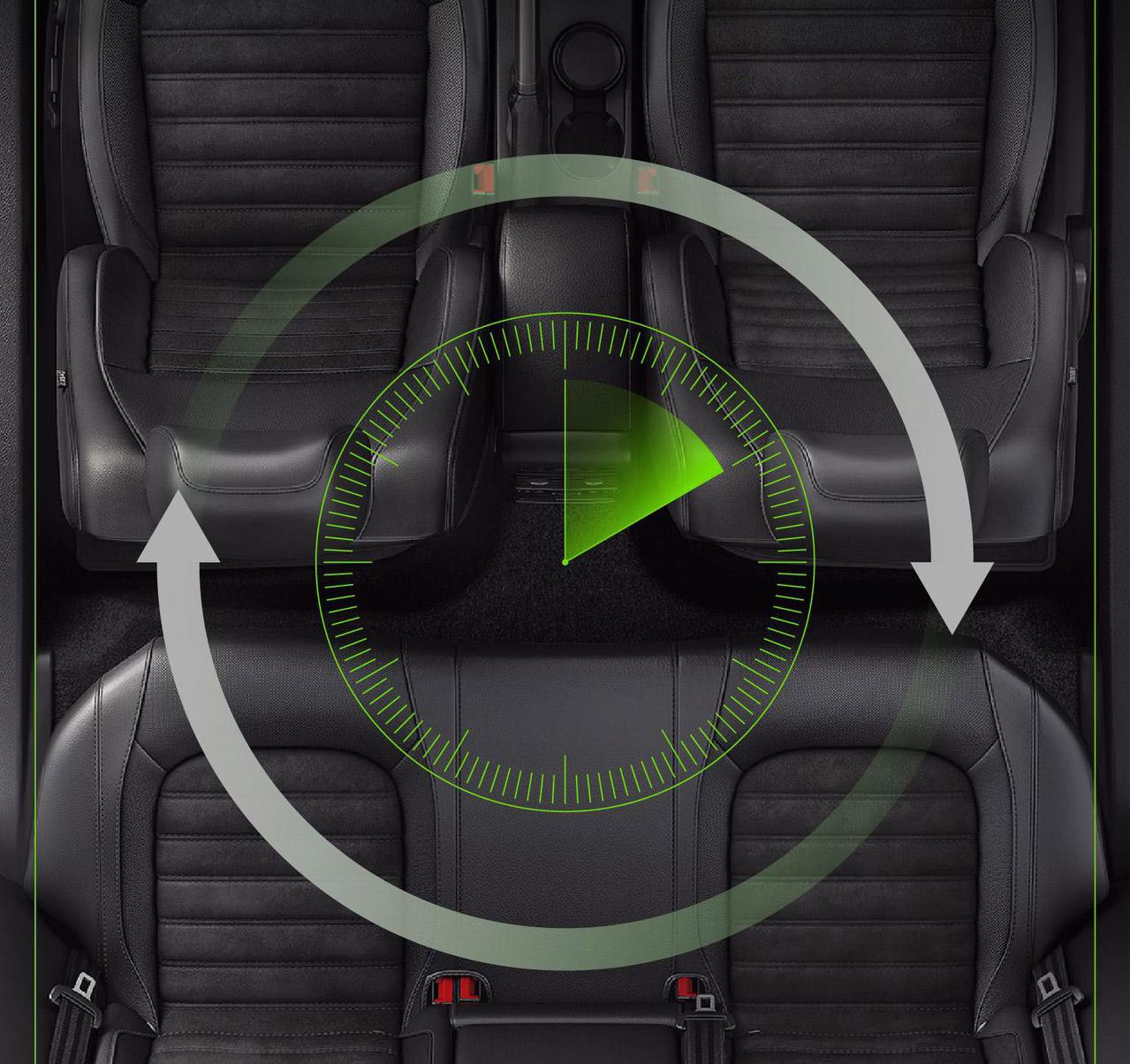 Máy lọc không khí trên ô tô Easy care sử dụng ion âm và khử khuẩn UVC ( mẫu 6 )