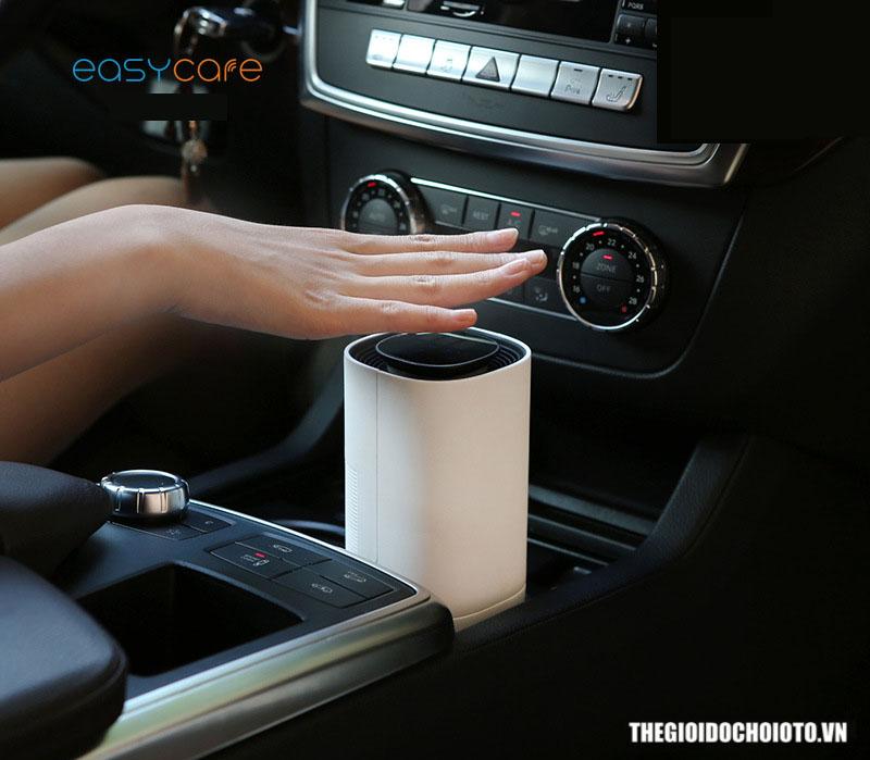Máy lọc không khí trên ô tô Easy Care theo dõi nhiệt độ, độ ẩm, độ bụi