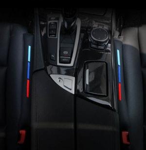 Miếng lót bịt khe ghế ô tô có dải 3 màu