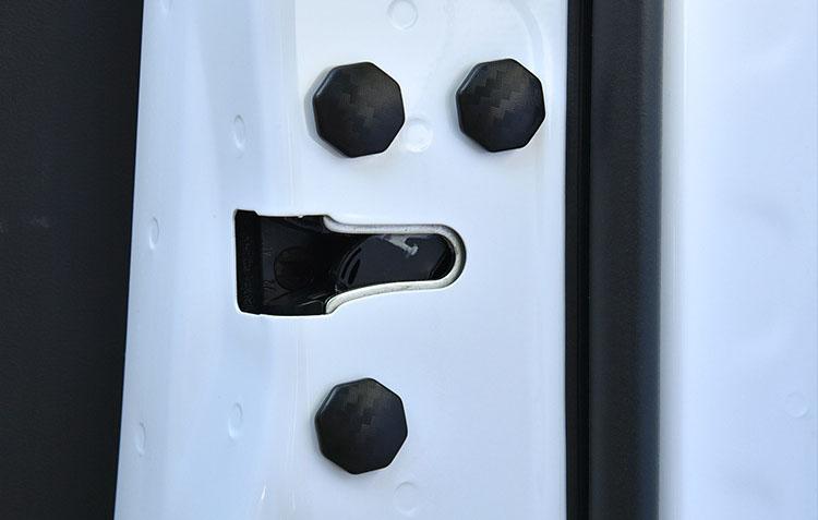 Nắp dán trang trí và bảo vệ vít cánh cửa xe ô tô chống rỉ