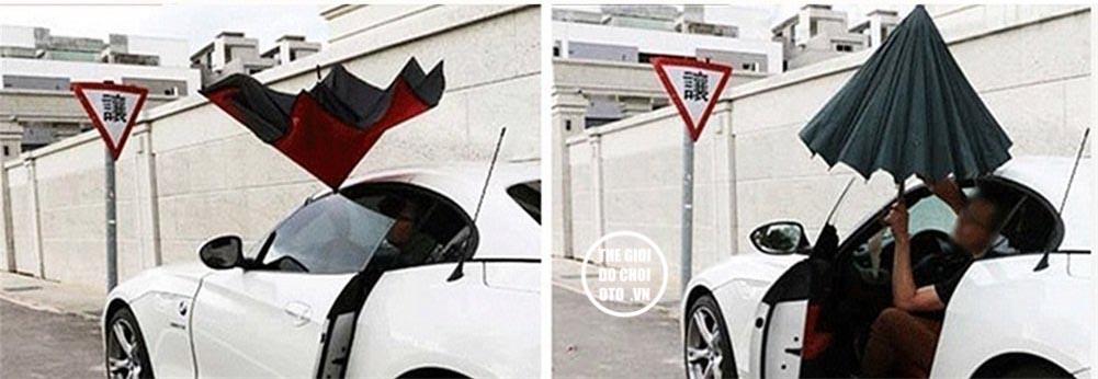 Ô mở ngược tiện lợi cho xe ô tô