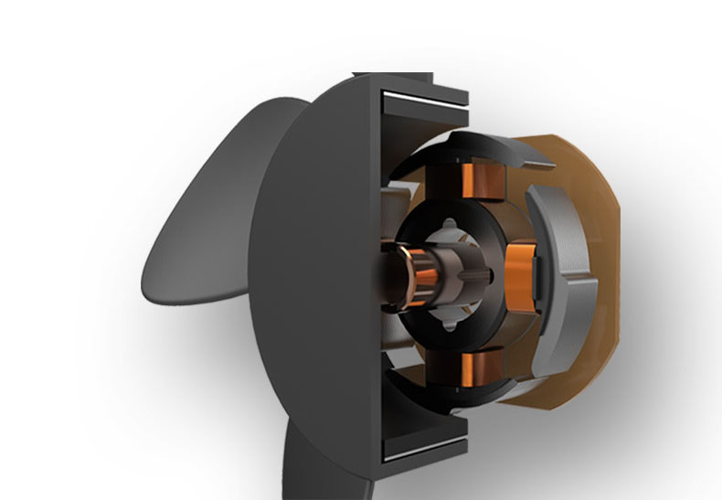 Quạt đơn, quạt đôi cho ô tô dùng nguồn điện USB