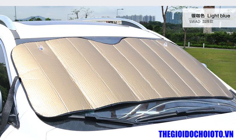 Tấm che nắng kính lái ô tô loại xốp dày