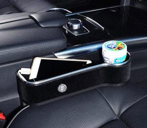 Khay để đồ khe ghế ô tô (mẫu 11)