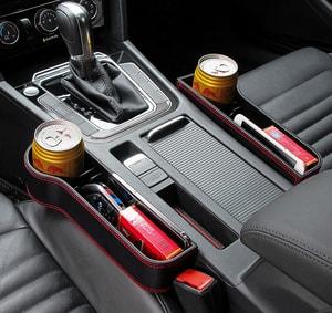 Khay để đồ khe ghế ô tô (mẫu 9)