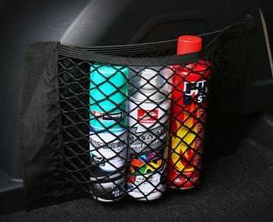 Lưới đựng đồ dán cốp xe ô tô tiện lợi với băng nhám velcro