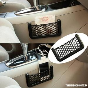 Túi lưới đựng đồ dán xe ô tô