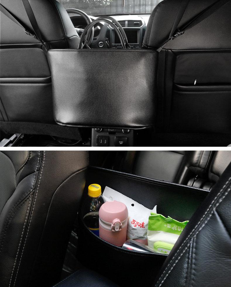 Túi đựng đồ treo giữa hai ghế ô tô