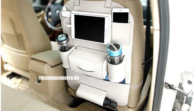 Túi đựng đồ treo sau ghế ô tô cao cấp (mẫu 3)