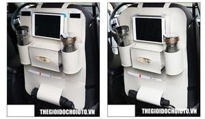 Túi đựng đồ treo sau ghế ô tô để ipad cao cấp (mẫu 6)