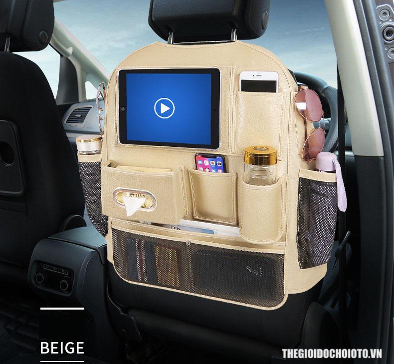 Túi đựng đồ treo sau ghế ô tô loại vây toàn bộ (mẫu 10)