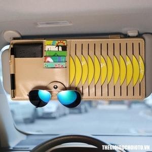 Ví đựng đĩa CD kẹp chắn nắng ô tô ( mẫu 5)