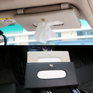 Ví đựng giấy ăn gài chắn nắng ô tô