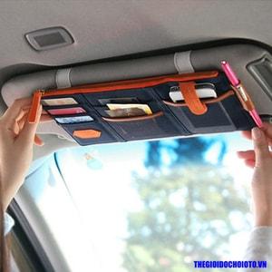 Ví kẹp tấmchắn nắng xe ô tô đựng thẻ, giấy tờ ( mẫu 3)